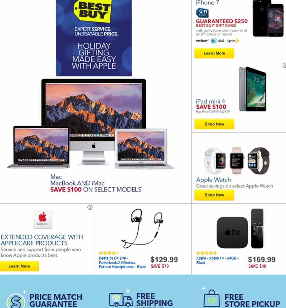 Best Buy Christmas 2017 Sales, Deals & Ads