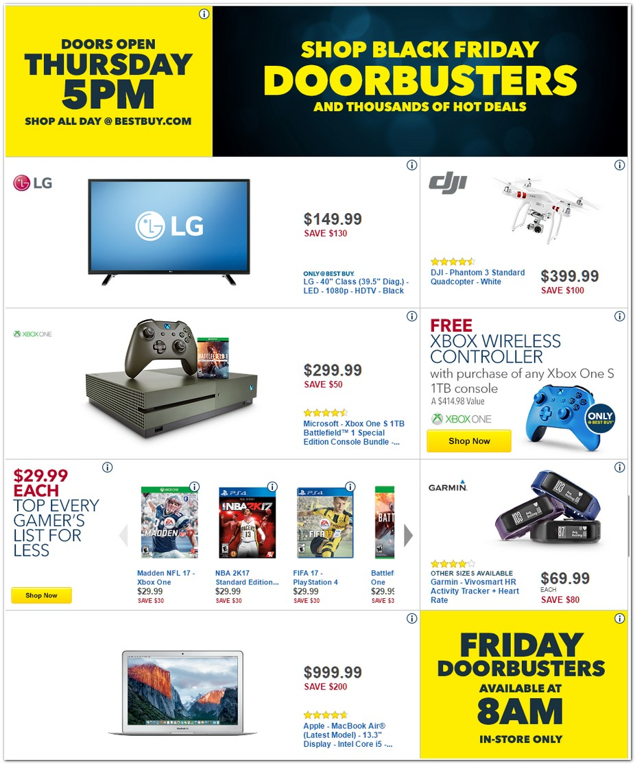 BestBuy Black Friday page 3