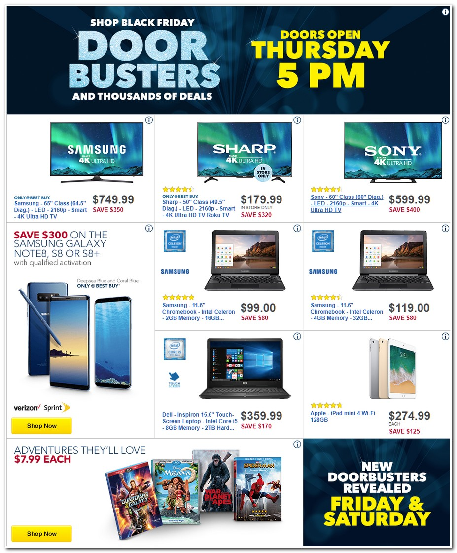 BestBuy Black Friday 2018 Ads, Deals and Sales